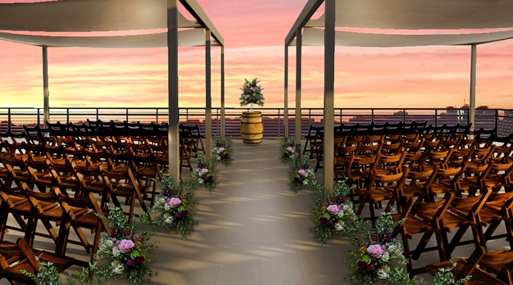 District Winery Outdoor Ceremony