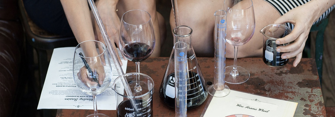 District Winery Blending Session