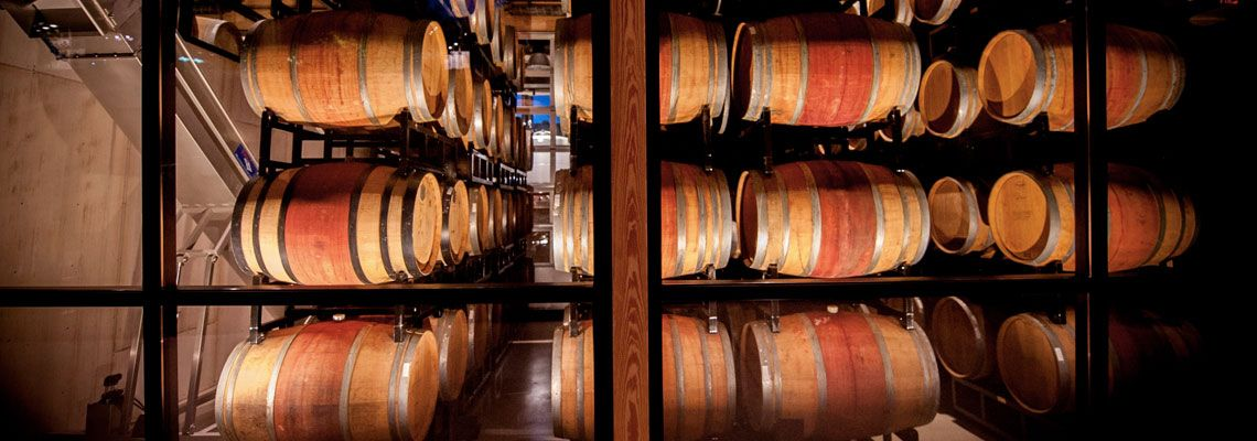 District Winery Barrel Room