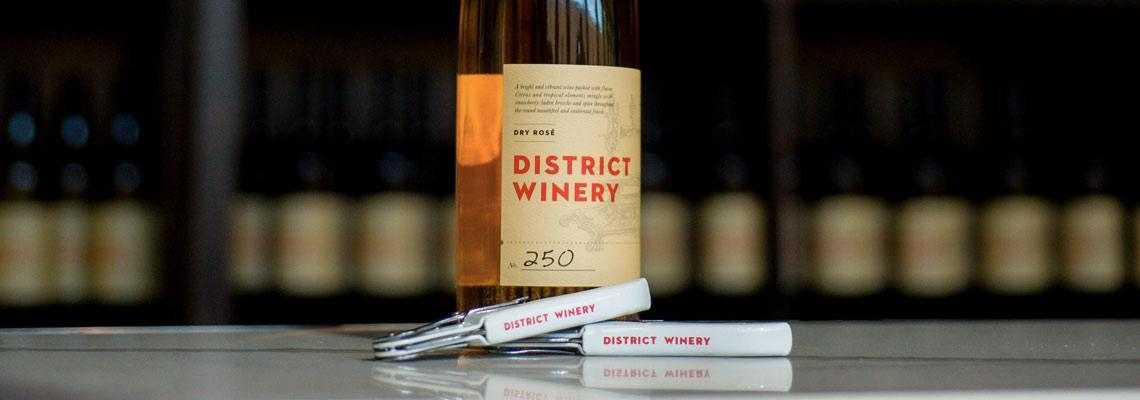 District Winery Tasting Bar