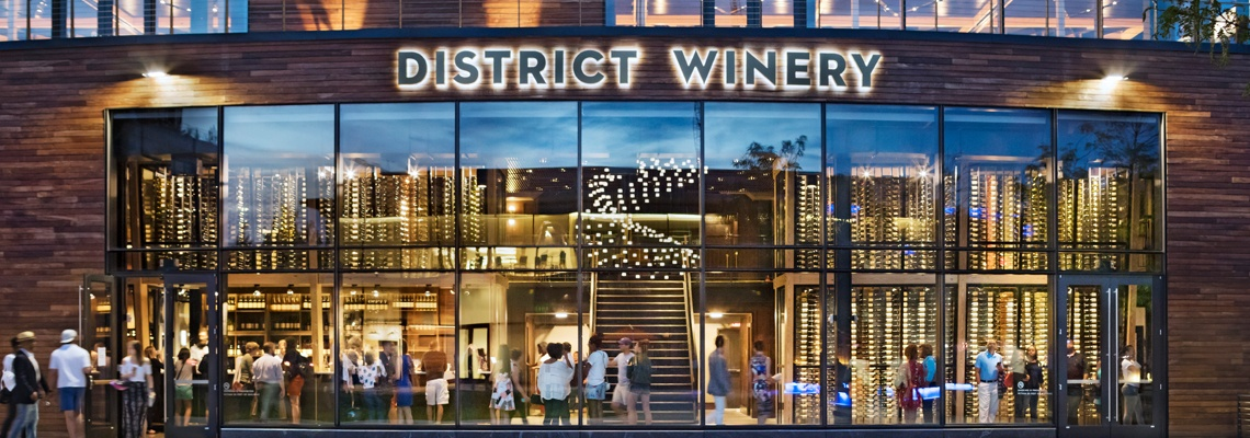 District Winery Exterior
