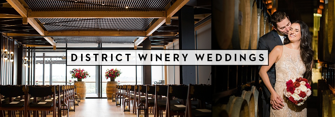 District Winery Weddings Banner