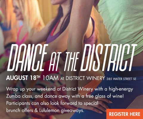Zumba at District Winery