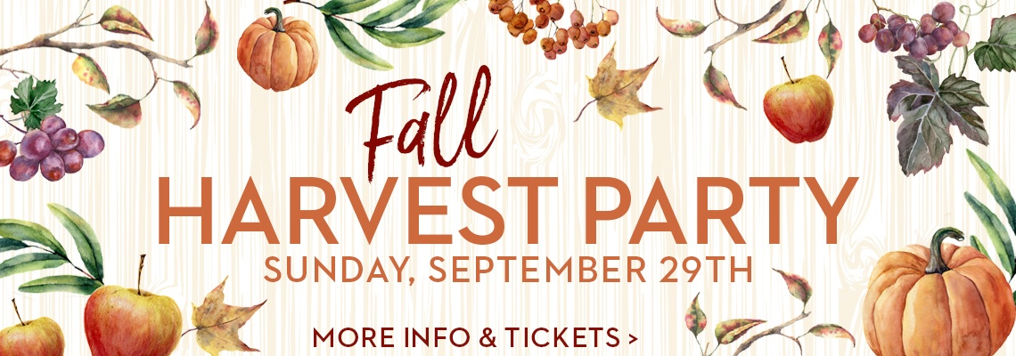 Fall Harvest Party DC WInery