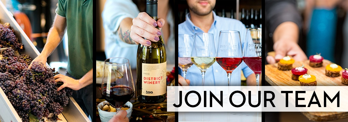 Join the Team District Winery